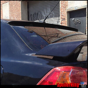 Rear Roof Spoiler Window Wing fits Mits Lancer X 2007 on 4dr Spoilerking