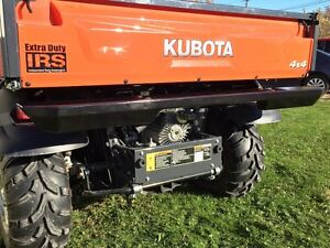 Kubota Rtv X1100c And Rtv X1120d Heavy Duty Steel Rear Bumper