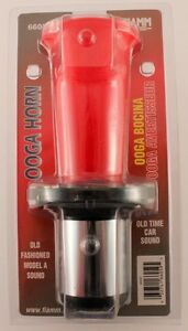 Fiamm 66059 Ooga Horn Red Old Fashioned Model A Sound