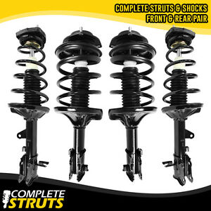 For 2000 2006 Hyundai Elantra Front Rear Quick Complete Struts Coil Springs