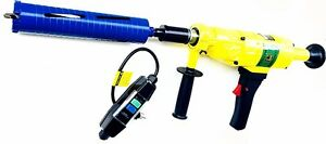 Hand Held Core Drill With Electronic Protection Includes 4 2 5 Dry Core Bits