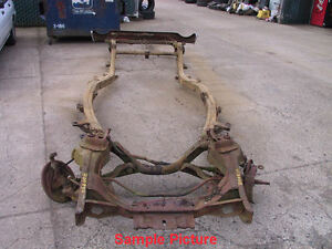 1957 1958 57 58 Ford Fairlane Galaxie Nice Solid Frame