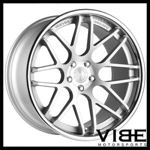 19 Vertini Magic Silver Concave Wheels Rims Fits Mercedes W204 C63 Amg