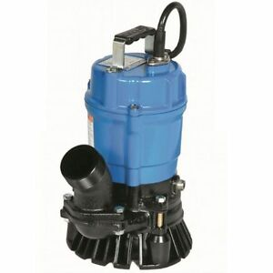 Tsurumi Submersible Trash Water Pump 2 inch Discharge 52 Gpm