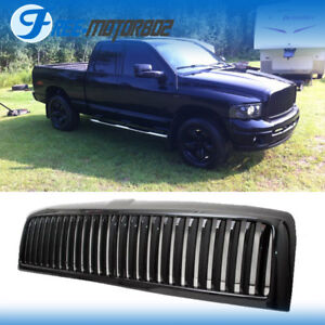 Fits 94 01 Dodge Ram Pickup Truck 1500 94 02 2500 3500 Front Black Grille Grill