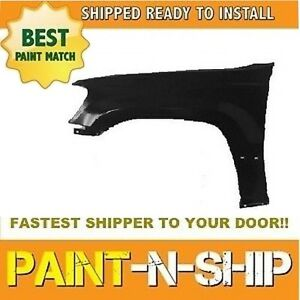 Fits 1999 2000 2001 2002 2003 2004 Jeep Grand Cherokee Left Fender Painted