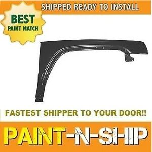 New 2006 2007 2008 2009 2010 Jeep Commander Right Fender Painted Ch1241249