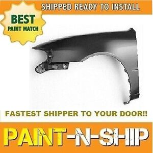 New 1998 1999 2000 2001 2002 Toyota Corolla Left Fender Painted To1240164