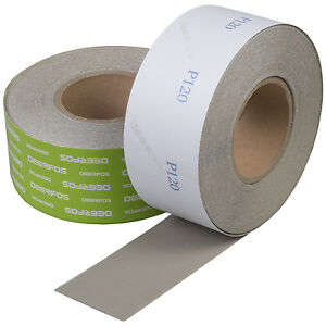 Sanding Roll 2 x 27 Yds Psa Ideal For Car Repair And Woodworking Grit P120