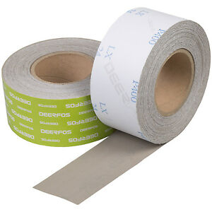 Sanding Roll 2 x 38 Yds Psa Ideal For Car Repair And Woodworking Grit P400
