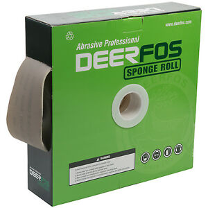 Film Sanding Sponge Roll 4 x27 Yds Ideal For Car Repair And Woodwork Grit P1000