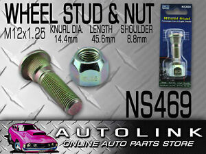 Nice Wheel Stud Nut To Suit Nissan Patrol Mq Gq Gu Guii 1979 2008 Rear Ns469