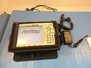 Anritsu Ms2721a Spectrummaster Handheld Spectrum Analyzer 100khz To 7 1ghz