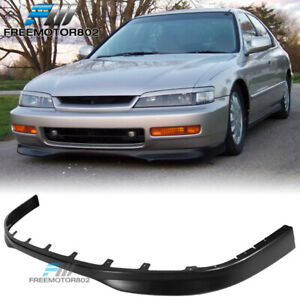 Fit For 96 97 Honda Accord Type R Style Front Bumper Lip Spoiler Pp