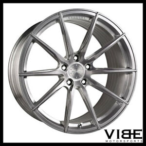 19 Vertini Rf1 1 Titanium Concave Wheels Rims Fits Mercedes Benz C63 Amg