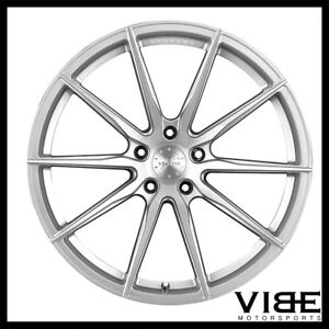 19 Vertini Rf1 1 19x8 5 Silver Forged Concave Wheels Rims Fits Audi B7 A4
