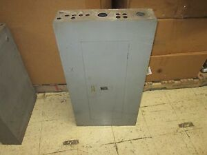 Square D Main Circuit Breaker Panel Nqob 57076 a 225a 225a Main Used