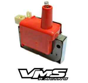 Vms Racing Internal Super High Output Energy Ignition Coil Fits Honda Acura Cap
