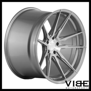 22 Rohana Rfx2 Titanium Concave Forged Wheels Rims Fit Dodge Charger Rt Se Srt8