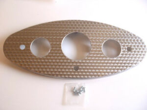 Ford Instrument Panel Stainless Steel Engine Turned 32 1932