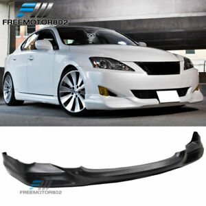 For 06 07 08 Lexus Is250 Is350 4dr Pu Front Bumper Lip Spoiler
