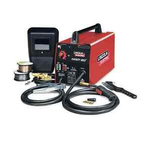 Lincoln Electric 120v Handy Mig Flux Cored Wire Feed Welder Welding Machine Weld