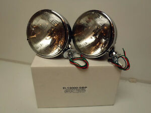 Ford Model A And V8 Deitz Style Headlamp Headlight Set Car And Truck