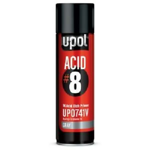 U Pol Up0741v Acid 8 Acid Etch Gray Primer Aerosol Can