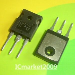 50 Pcs Irfp460 To 247 Power Mosfet vdss 500v Rds on 0 27ohm Id 20a