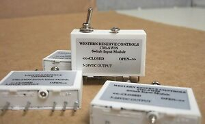Wrc grayhill opto crydon gordos 1781 sw5s Input Switch Modules Lot Of 4