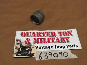 Jeep Willys Ross Steering Box Inner Bushing 7 8 Sector Shaft Nos 639090