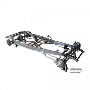32 1932 Ford Stick Shift Frame Chassis Plain Steel Suspension United Pacific