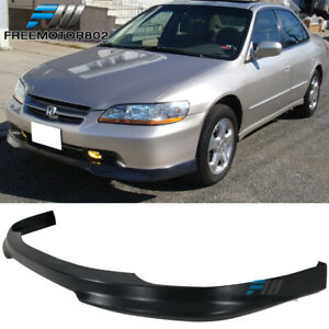 For 98 02 Honda Accord Sedan 4door Type R Front Bumper Lip Pp