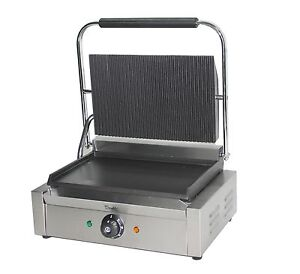 Large Panini Press Toaster Electric Sandwich Maker Commercial Pannini Grill