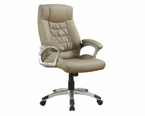 Casual Beige Office Chair