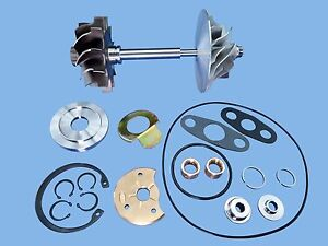 Man Truck Bus D0826lf01 Hx40w Turbo Charger Comp Wheel Shaft Rebuild Kit