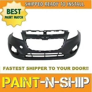 Fits 2013 2014 2015 Chevy Spark Front Bumper W ointegral Lwr Grille Painted