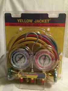 Yellow Jacket Test Charging Manifold Hoses Ritchie Engineering Company New Nip