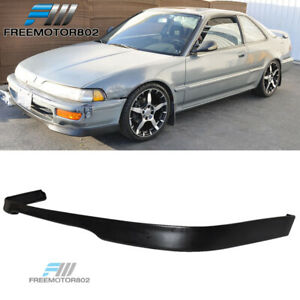 For 92 93 Acura Integra Type R T r Style Front Bumper Lip Spoiler Urethane