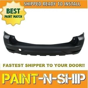 New Fits 2009 2010 2011 2012 2013 Subaru Forester Rear Bumper Painted su1100161