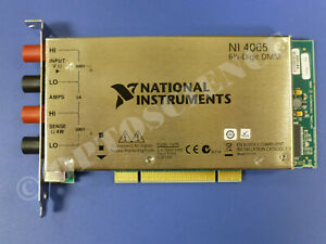 National Instruments Pci 4065 Multimeter Card 6 1 2 Digits Ni Daq Dmm