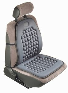 Universal Gray Therapeutic Massage Seat Protector Cushion Cover For Car Truck