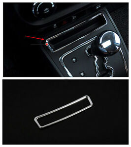 Chrome Inner Gear Front Storage Box Cover Trim For Jeep Patriot Compass 2011 16
