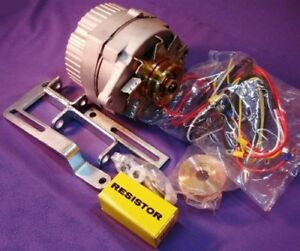New 12v 63 Amp One Wire Alternator Generator Conversion Kit For Ford 8n Tractor