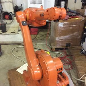 Abb New Robot Irc5 Irb1600 Excellent Working Condition 6kg 1 45 Reach