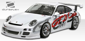 05 11 Porsche 997 Duraflex Cup Car Look Front Bumper 3pc Body Kit 105140