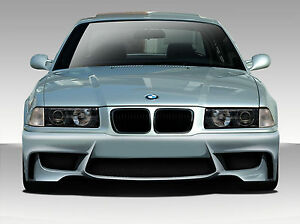 92 98 Bmw 3 Series M3 E36 Duraflex 1m Look Front Bumper 1pc Body Kit 109311