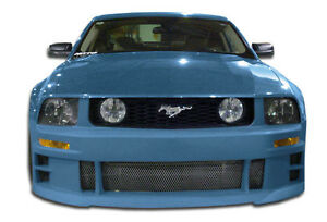 05 09 Ford Mustang Duraflex Gt Concept Front Bumper 1pc Body Kit 103635