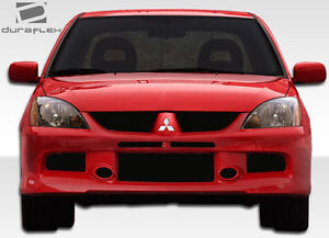 04 07 Mitsubishi Lancer Duraflex Mr Edition Front Bumper 1pc Body Kit 106441