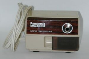 Panasonic Auto Stop Electonic Pencil Sharpener Kp 110